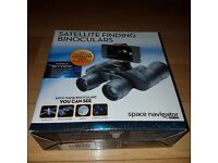 Space Navigator, Satellite Finding Binoculars, BARGAIN £15 BNIB!