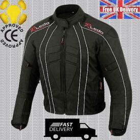 CLASSIC Motorbike Motorcycle Jacket Wind/ Waterproof CE Armours