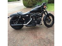 Harley Davidson Sportster XL 883 Iron Stage 1 upgrade