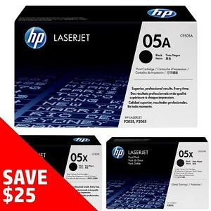 Original HP 05A/X Toner - Buy 2 Direct from HP Save $25 Off