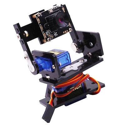 2pcs Micro Servos Motor And Smart Robot Hd Camera Robot Separate Gimbal