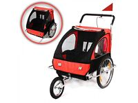 Samax 2-in-1 Bicycle Trailer and Jogger-To sell-new-not used as too big for our house