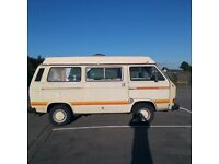 Vw T25 camper, new MOT. New engine. Very solid. Want it gone this weekend.