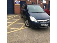 Vauxhall Zafira 1.9 CDTi design 5dr1FORMER OWNER+TOP SPEC+AUTOMATic 2010 60 PLATE 147k HALF LEATHER