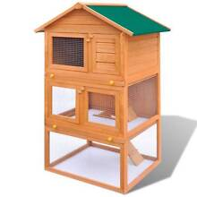 Outdoor Rabbit Hutch Small Animal House Pet Cage 3  (SKU 170161) Mount Kuring-gai Hornsby Area Preview