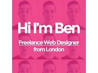 Freelance Web Designer in London | Agency Quality at Freelance Prices | Ben
