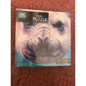 Brand new 1000 piece bbc earth seal puzzle