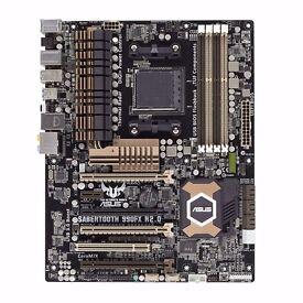 AMD FX 9590 Black Edition + Asus Sabertooth 990fx vs r2.0 + 8GB DDR3 2400mhz