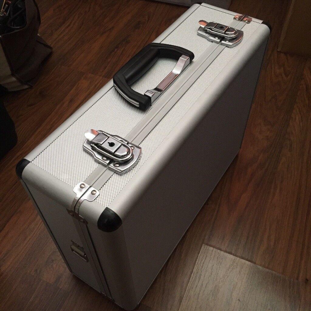 Aluminium hard camera photography flight carry case storage box