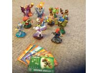Skylanders Giant Badic characters with cards