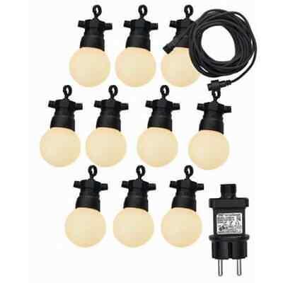 Luxform Juego de Luces de Fiesta para Jardín con 10 LED Iluminaciones...