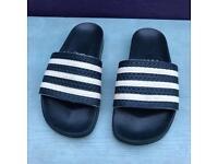 Adidas flip flop sliders size 6