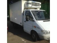 MERCEDES BENZ SPRINTER 311 cdi mwb 2006 REFRIGERATION BOX VAN. NO vat £2995