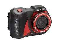 SeaLife micro 2.0 underwater camera up to 60m waterproof 64GB WiFi