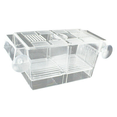 Fish Incubator Hatchery Box for Fry Baby Small Fish Isolation for Fish Tank