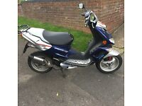 Peugeot 50cc Scooter no tax or Mot needs new generator and CDI unit 9000 miles 4 owners