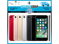 Apple iPhone 7 64GB 128GB 256GB Unlocked Smartphone All Colours / GRADES: B - A - A+