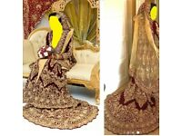 Asian Bridal Exclusive Wedding Dress, Shoes and Potli Bag!