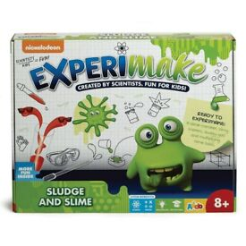 Nickelodeon Experimake Sludge and Slime - NEW & UNUSED