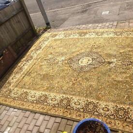 Carpet rug wool large