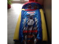 Thomas & Friends - Ready blow up bed with pump - great condition