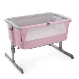Chicco next2me crib pink