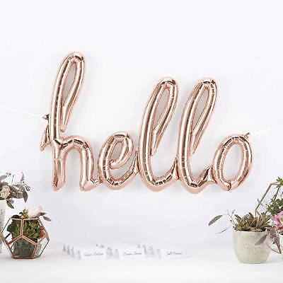 Giant Balloon Letters (HELLO ,LOVE,ONE,FUN  Giant Balloon letters 45 inch Ligatures Script  Mylar)