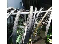 bicycle wheels tyres various sizes used
