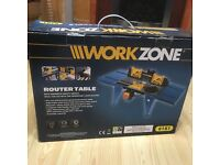 Brand new work zone router table