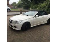 MERCEDES BENZ ECLASS CONVERTIBLE 350sports for sale