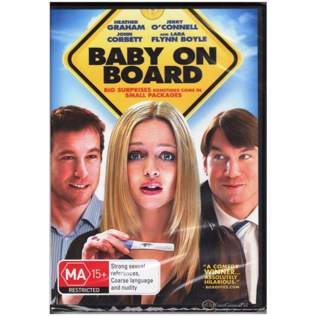 DVD BABY ON BOARD Heather Graham John Corbett Jerry O'Connell Comedy R4 [BNS]