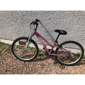 Girls Bike would suit age 8-12