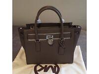New Michael Kors Leather Satchel Handbag