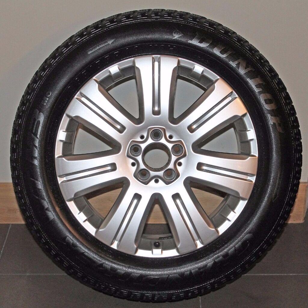 "Genuine Mercedes-Benz 19"" Alloy Wheels with Dunlop GrandTrek Winter/Snow Tyres"