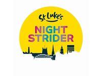 Night Strider: Cheer Station Volunteer