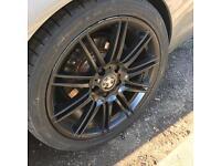 "BMW Mv4 Wheels 3 series ""18 2x new tyres"