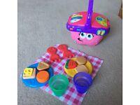 Leapfrog picnic basket