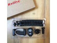 Phone/Camera Tripod Set (with REMOTE) (Brand New) (Opened Box only)