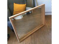 Solid Oak Kielder Mirror