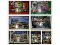 JOBLOT OF JIGSAW PUZZLES AROUND 29 PUZZLES