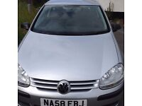 58 plate VW Golf SDI diesel with service history