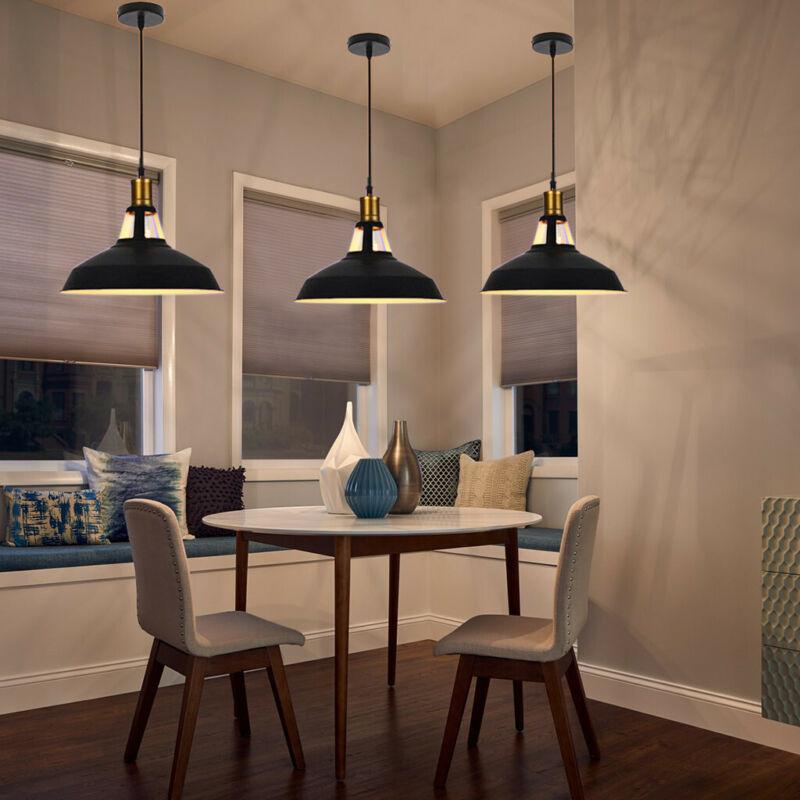 Industrial Pendant Ceiling Light Loft Bar Fixture Stainless