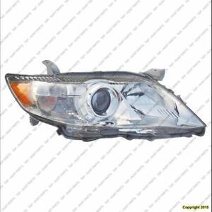 Head Lamp Passenger Side Base-Le-Xle Usa Built Toyota Camry 2010-2011
