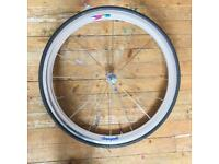 Rare Campagnolo shamal 1st generation 700c clincher front wheel