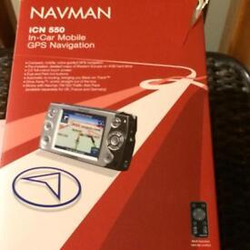 Navman iCN 550 GPS Navigation System