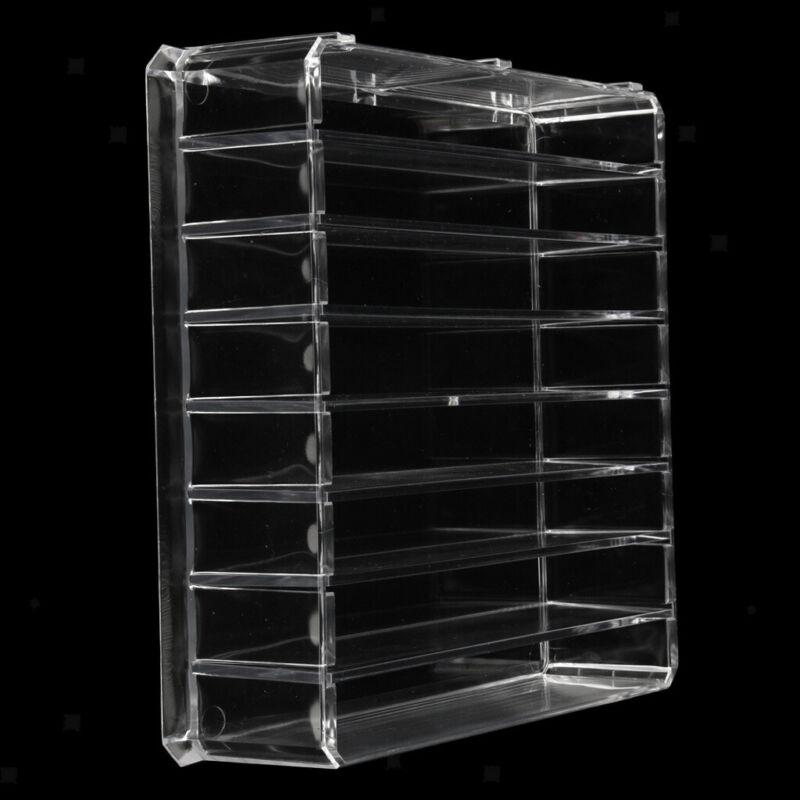Clear Cosmetic Storage Box Lipstick Eye Shadow Organizer Holder, Detachable