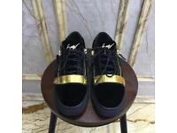 Giuseppe Zanotti Sneakers (Gold Buckle)