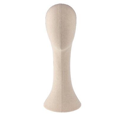 Female Mannequin Manikin Head Model Hair Wigs Glasses Hat Display Stand 6