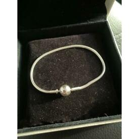 Pandora size 16 charm bracelet