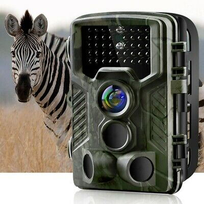 Hunting Trail Camera 20MP 1080P Trap Cam Detecting Motion Activated Night Vision